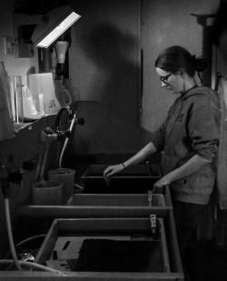 Freies Arbeiten in der Schwarz/Weiß-Dunkelkammer
