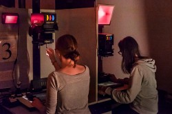 Schwarz-/Weiß-Vergrößern im analogen Fotolabor (Wochenende)