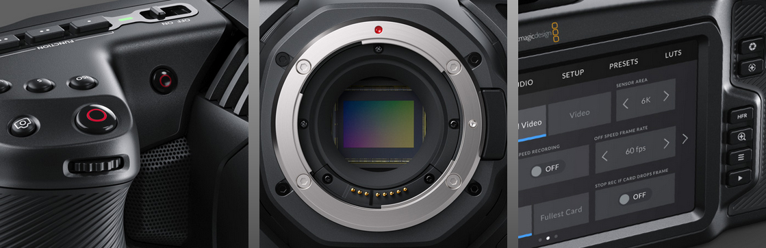 Detailbilder zur Blackmagic Pocket Cinema 6K